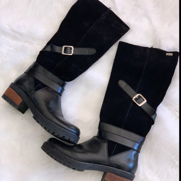 Bota Class Botas Blaque Talle 36 Zapatos de Mujer 36 en