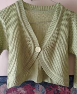 sweater verde