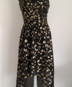 vestido black and gold 2