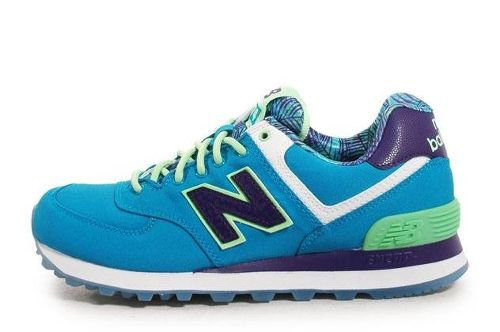 zapatillas new balance turquesa